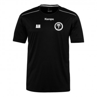 KEMPA HSV Cottbus Volley Poly Shirt Aufwärmshirt Unisex schwarz | 116