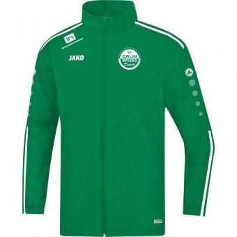 JAKO SV Grün-Weiß Dissen Sweat Allwetterjacke Striker 2.0 Regenjacke sportgrün-weiß | M