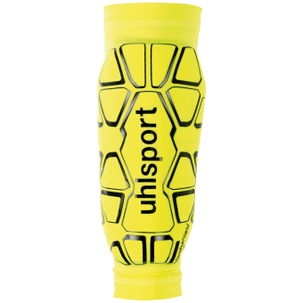 UHLSPORT BIONIKSHIELD SCHIENBEINSCHÜTZER (SLEEVE) fluo gelb-schwarz | XS