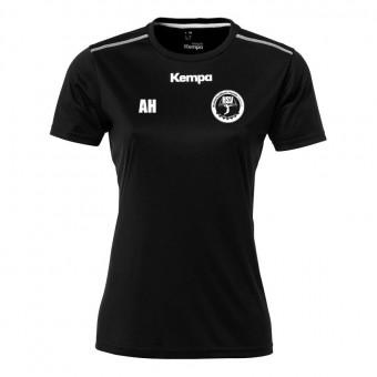 KEMPA HSV Cottbus Volley Poly Shirt Women Aufwärmshirt Damen schwarz | XS
