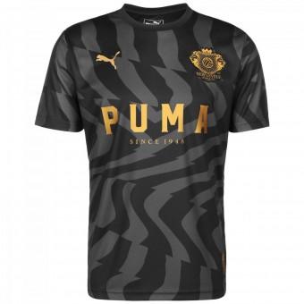 Puma Psychedelic Herren Fußballtrikot Puma Black-Steel Gray | M