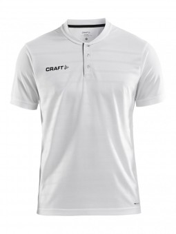 CRAFT PRO CONTROL BUTTON JERSEY M TRIKOT HERREN White-Black | XL