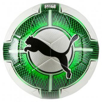 Puma evoPOWER Vigor 2.3 Match Fussball Spielball FIFA Quality Pro Puma White-Green Gecko-Puma Black | 5