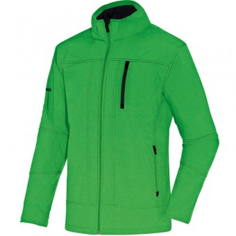 JAKO Softshelljacke Team soft green-schwarz | 40