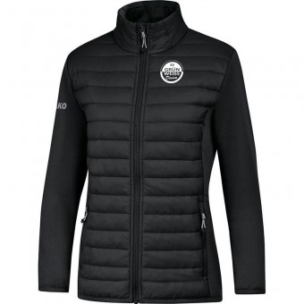 JAKO SV Grün-Weiß Dissen Damen Hybridjacke Premium schwarz | 34 (XS)