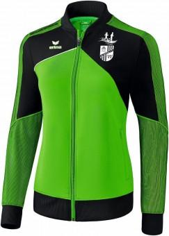 erima SG Weißig PREMIUM ONE 2.0 Präsentationsjacke Damen green-schwarz-weiß | 40