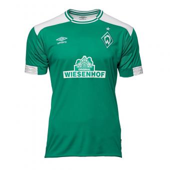 Umbro SV WERDER BREMEN 18/19 HOME JERSEY Fan-Trikot grün   M
