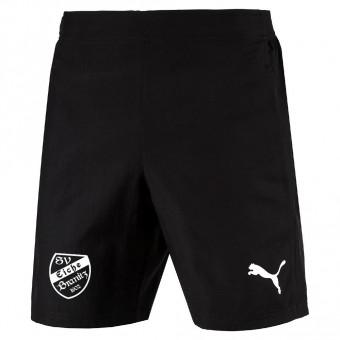 PUMA SV Eiche Branitz LIGA Sideline Woven Shorts Jr Präsentationsshorts Kinder Puma Black-Puma White | 116