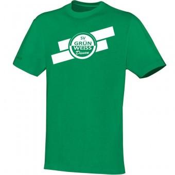 JAKO SV Grün-Weiß Dissen T-Shirt Team Fanshirt sportgrün | 128
