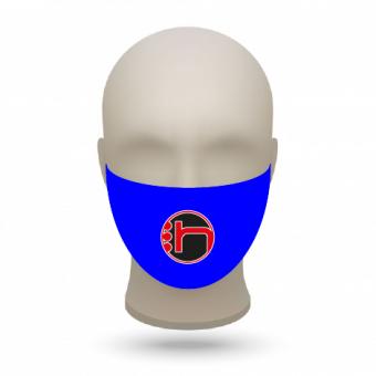 Mund- und Nasenmasken mit Vereinslogo royal   500 Stk