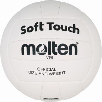 Molten VP5 Volleyball Trainingsball weiß | 5