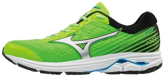 Mizuno Wave Rider 22 Laufschuhe Running Green Gecko-White-Graphite | 44