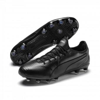 Puma KING PRO FG Fußballschuhe Puma Black-Puma White | 45