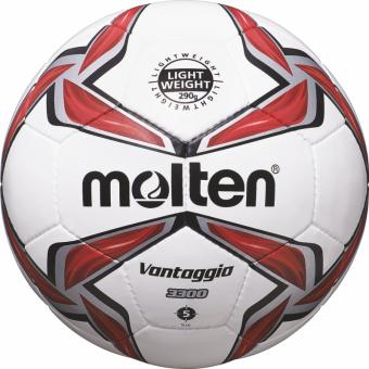Molten F5V3329-R Fußball S-Light Jugendball weiß-rot-silber | 5