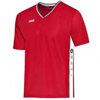 JAKO Shooting Shirt Center Basketballtrikot rot-weiß | XXS