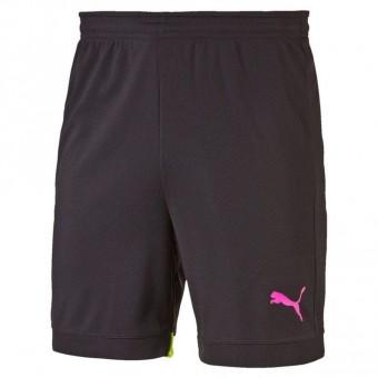 Puma IT evo TRG Shorts Trainingsshorts black-safety yellow | S