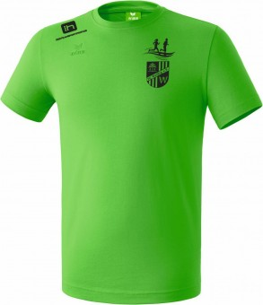 erima SG Weißig Teamsport T-Shirt Baumwolle Präsentationsshirt green | XXL