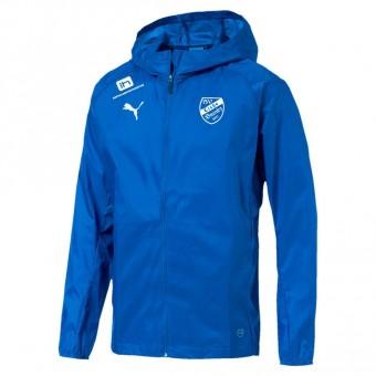 PUMA SV Eiche Branitz LIGA Training Rain Jacket Core Jr Regenjacke Kinder Electric Blue Lemonade-Puma White | 176