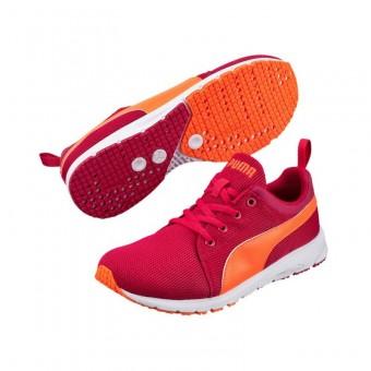 Puma Carson Runner JR Sportschuhe Kids Kinder Laufschuhe pink rot | 32