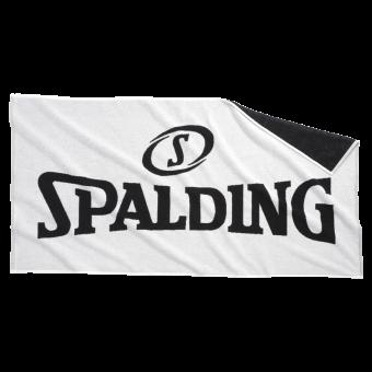 SPALDING BADETUCH DUSCHTUCH weiß-schwarz   One Size