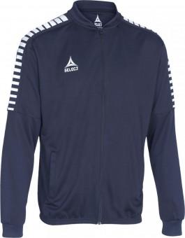 Select Argentina Arbeitsjacke Polyesterjacke navy-weiß | L