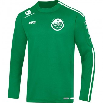 JAKO SV Grün-Weiß Dissen Sweat Striker 2.0 Sweater Rundhals sportgrün-weiß | 128