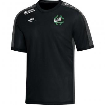 SV Schwarz-Weiß Haasow T-Shirt  Striker schwarz-grau | 140
