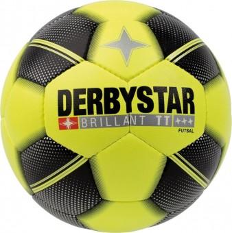 Derbystar Brillant TT Futsal Fußball Futsalball gelb-schwarz-grau | 4