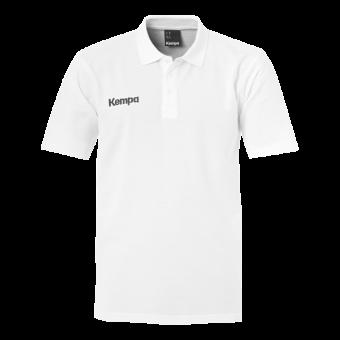 KEMPA HSV Cottbus Volley Classic Polo Shirt Unisex Schiedsrichter weiß   128