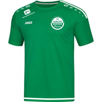 JAKO SV Grün-Weiß Dissen T-Shirt Striker 2.0 Trainingsshirt sportgrün-weiß   152