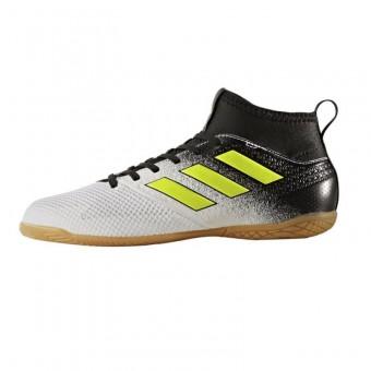 adidas ACE TANGO 17.3 IN J Hallen Fußballschuhe Kinder weiß gelb schwarz | 35