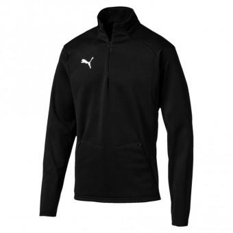 Puma LIGA Training Fleece Fleece Zip Top Puma Black-Puma White | M