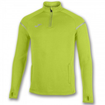 JOMA Zip Top Race Zip Sweater lime | 164