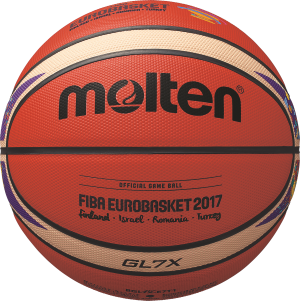 Molten BGL7X-E7T Basketball Wettspielball orange-ivory | 7