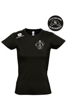 CBV Boxing Fanshirt Cottbuser Boxverein Damen Deep Black   S