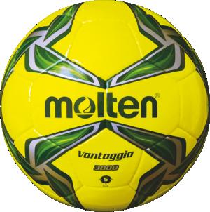 Molten F5V3800-YG Fußball Trainingsball neongelb-grün-silber | 5