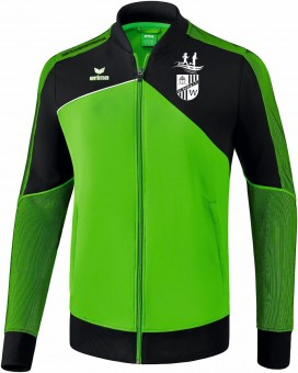 erima SG Weißig PREMIUM ONE 2.0 Laufjacke green-schwarz-weiß   M
