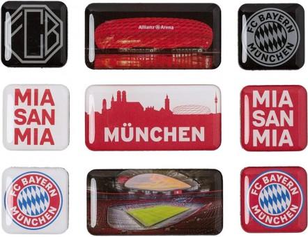 FC Bayern München Magnet-Set 9-TLG. Sonstige | One Size