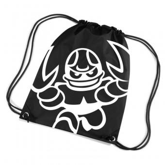 "Cottbus Crayfish ""Crayfish Logo"" Premium Gymbag schwarz   33 x 45 cm"