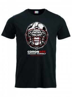 Cottbus Crayfish CoronAPE T-Shirt Herren schwarz | XS