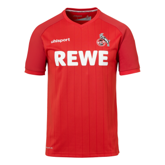 Uhlsport 1. FC Köln Herren Auswärtstrikot 2019/20 rot rot | M