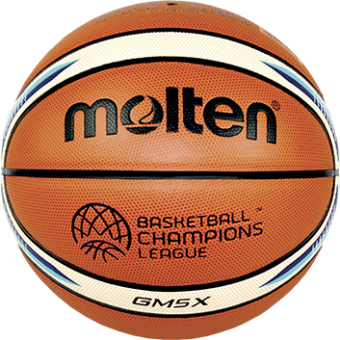 Molten BGM5X-CL Basketball Trainingsball orange-ivory   5