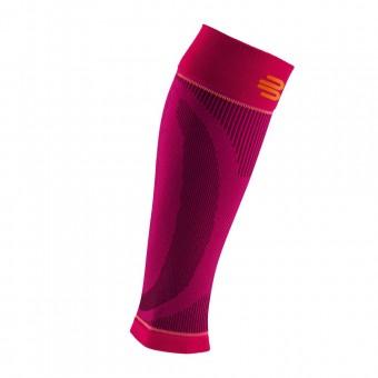 Bauerfeind Sport Kompression Wadenstulpen Compression Sleeves Waden pink | S - Lang