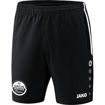 JAKO SV Grün-Weiß Dissen Short Competition 2.0 Trainingsshort schwarz-weiß | L