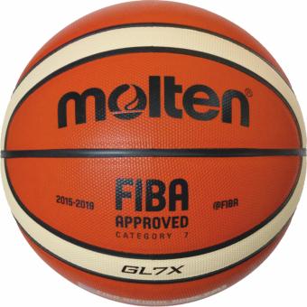 Molten BGL7X  Basketball Wettsspielball orange-ivory   7