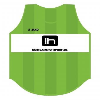 JAKO Kennzeichnungshemd Hartiste Trainingsleibchen neongrün | 00 (Bambini)