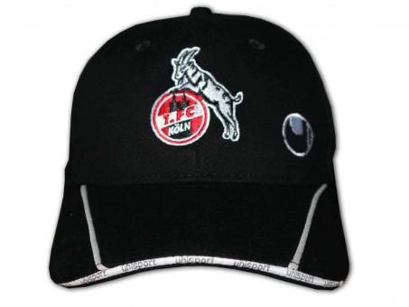 Uhlsport 1. FC Köln Fan Cap Effzeh Basecap Kappe Mütze Fanartikel Bundesliga schwarz   NOSIZE