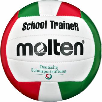 Molten V5STC Volleyball SchoolTraineR weiß-grün-rot   5