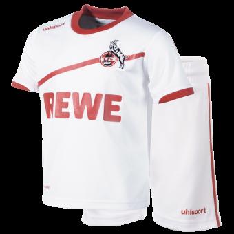 Uhlsport 1. FC Köln Mini-Kit 18/19 Replica-Trikotset weiß | 80/86