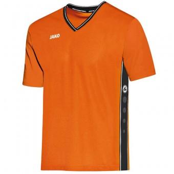 JAKO Shooting Shirt Center Basketballtrikot neonorange-schwarz | XS